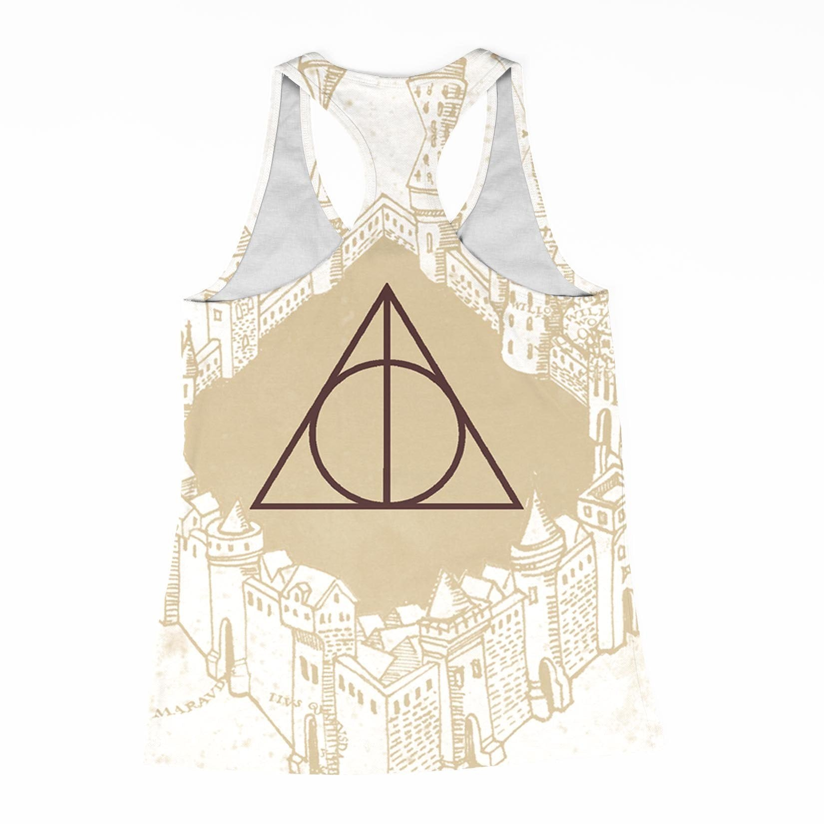 Marauders Map Racerback-Tank