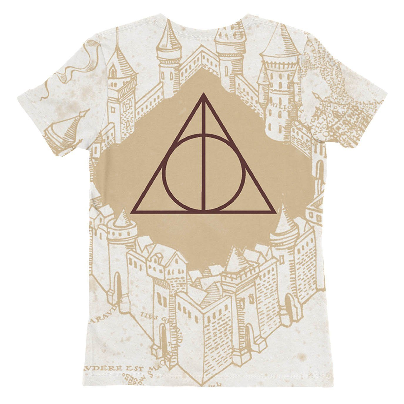 Marauders Map Womens T-shirt