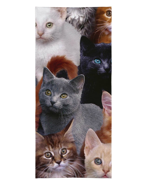 Cat Collage Beach Towel