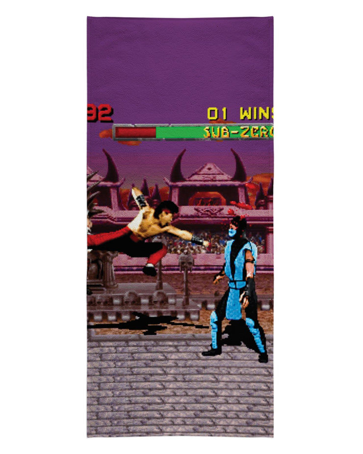 Mortal Combat Beach Towel