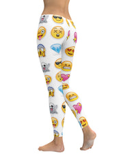 Emoticons Leggings