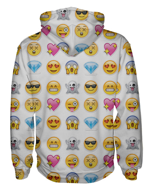 Emoticons Pullover Hoodie