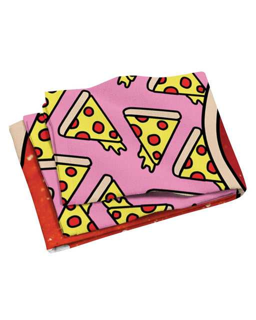 All I Care About Is Pizza Beach Towel