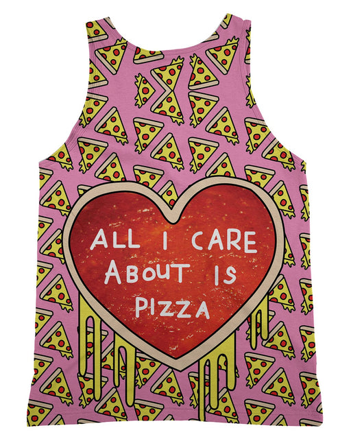 All I Care About Is Pizza Tank-Top