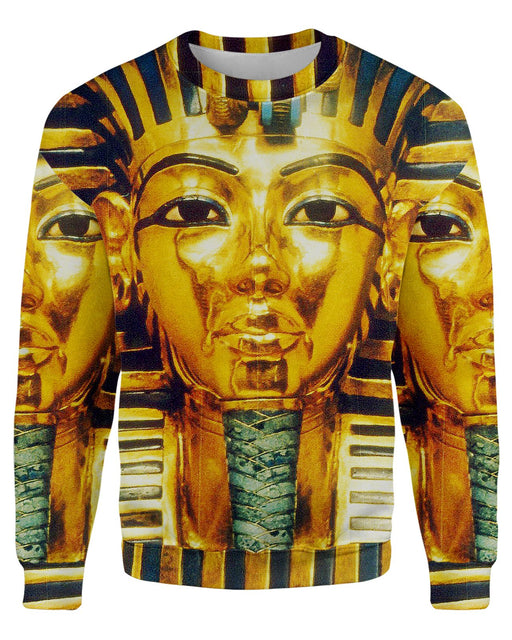 Pharaoh printed all over in HD on premium fabric. Handmade in California.