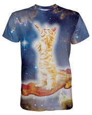 Bacon Cat printed all over in HD on premium fabric. Handmade in California.