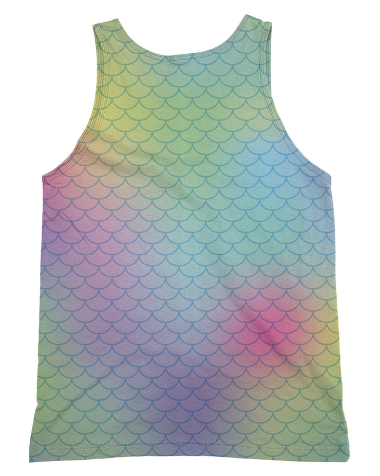 Big Rainbow Mermaid Tank-Top