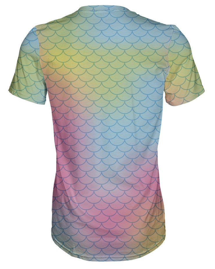 Bright Mermaid Scales T-shirt