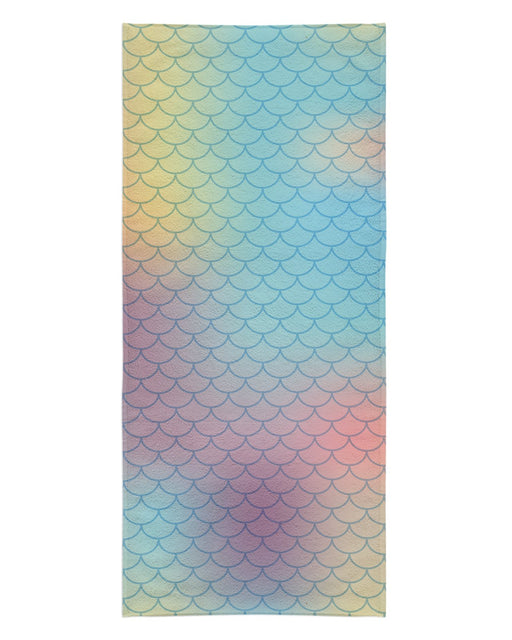 Pastel Mermaid Scales printed all over in HD on premium fabric. Handmade in California.