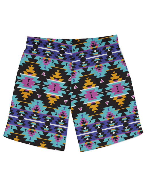 Colorful Tribal Athletic Shorts