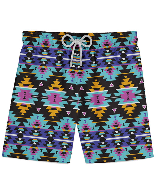 Colorful Tribal printed all over in HD on premium fabric. Handmade in California.