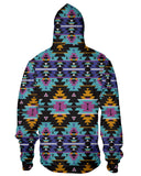 Colorful Tribal Zip Hoodie