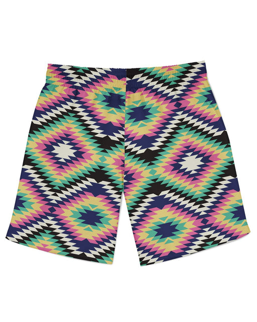 Geometric Tribal Athletic Shorts
