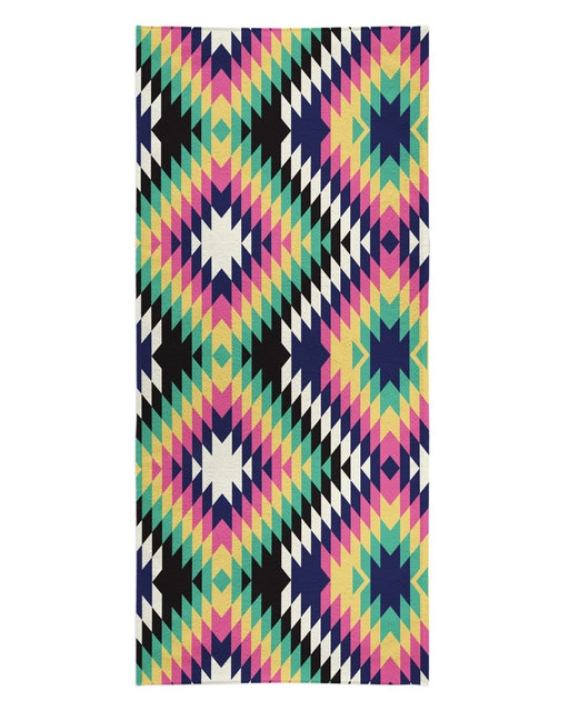 Geometric Tribal Beach Towel