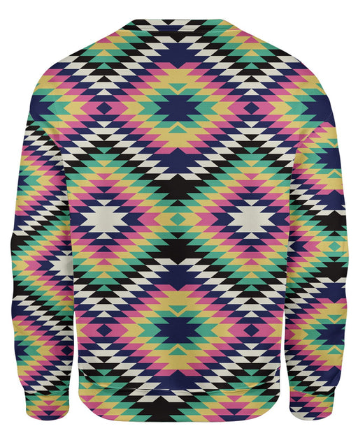 Geometric Tribal Sweatshirt