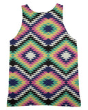Geometric Tribal Tank-Top