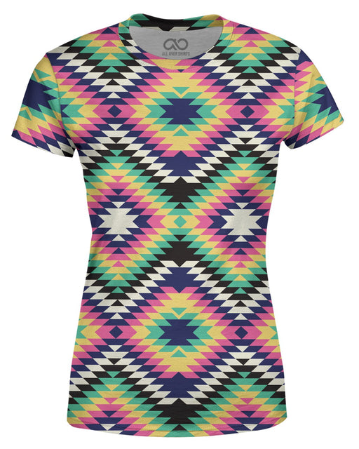 Geometric Tribal printed all over in HD on premium fabric. Handmade in California.