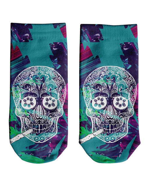 Skull and Joint Ankle Socks