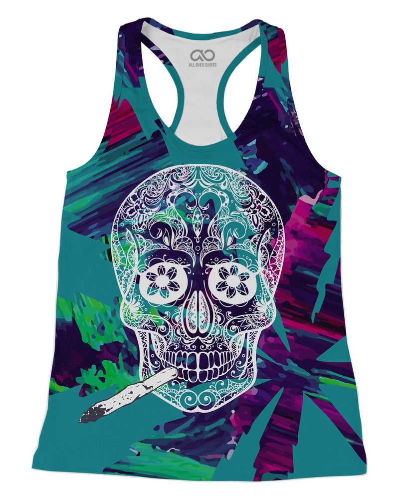 Skull and Joint Racerback-Tank
