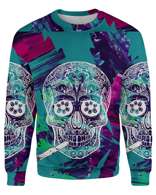 Skull and Joint Sweatshirt