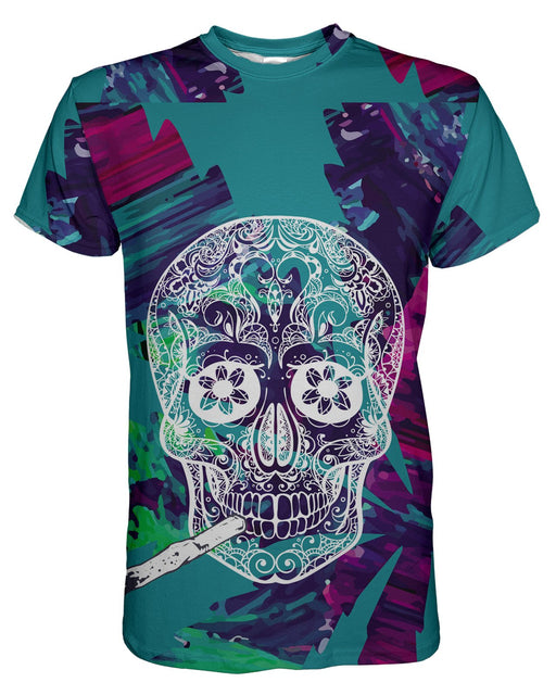 Skull and Joint printed all over in HD on premium fabric. Handmade in California.