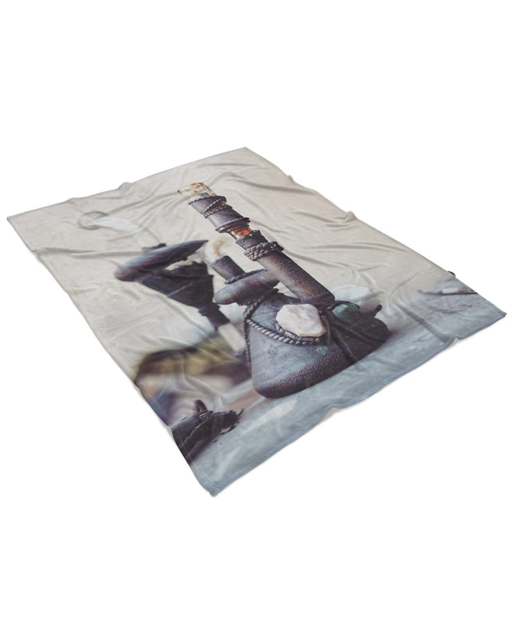 The Rig Fluffy Micro Fleece Throw Blanket