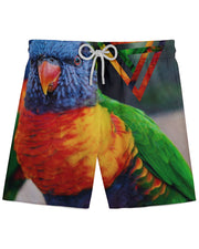Bright Birdie Athletic Shorts