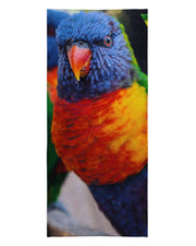 Bright Birdie Beach Towel