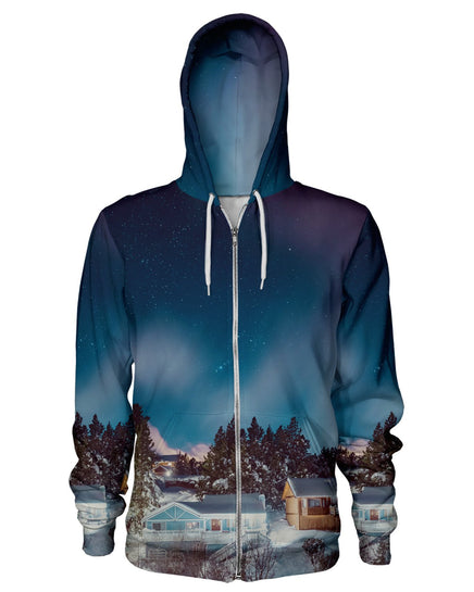 Big Bear Nights Zip Hoodie