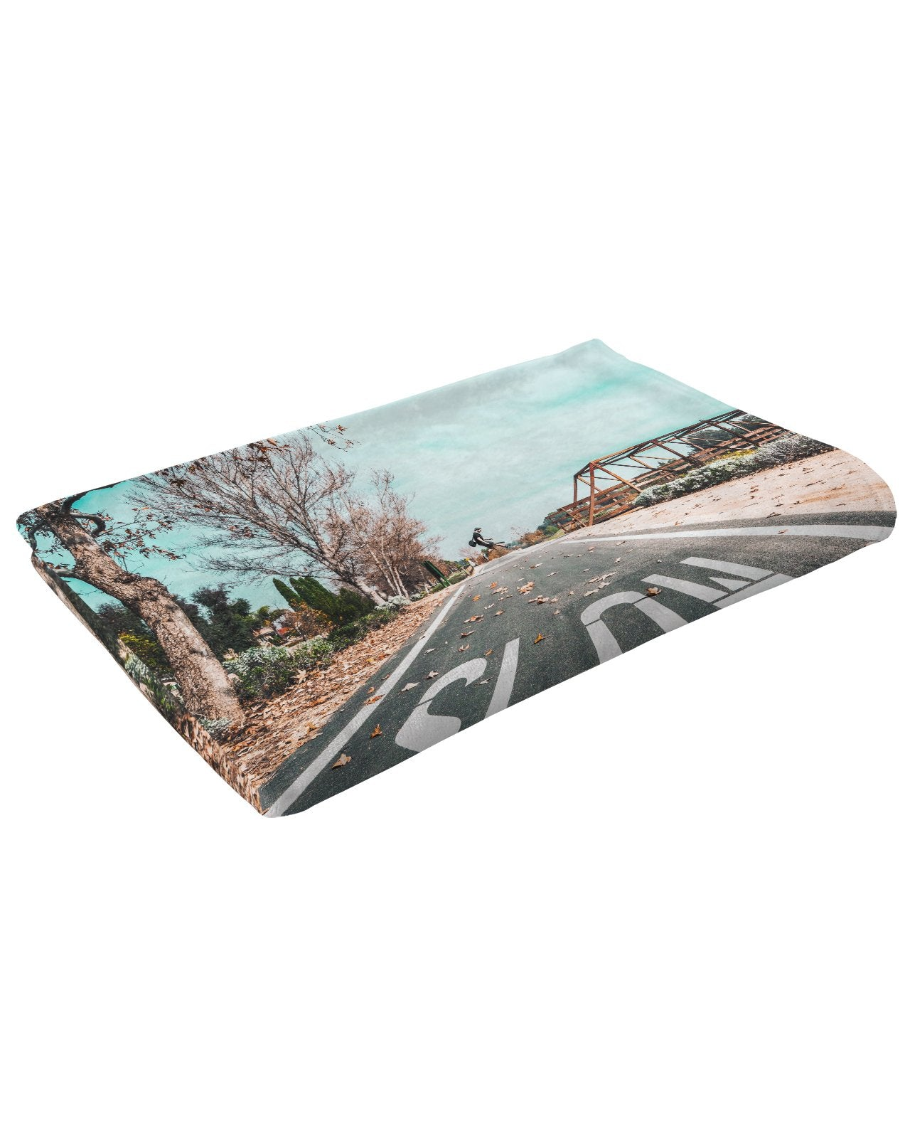 Slow Jump Fluffy Micro Fleece Throw Blanket