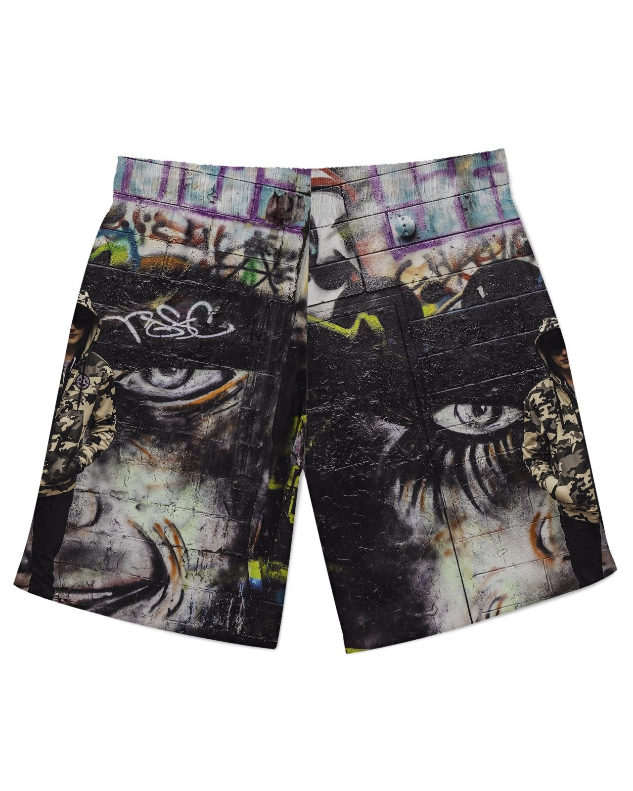 Dark Boy Athletic Shorts