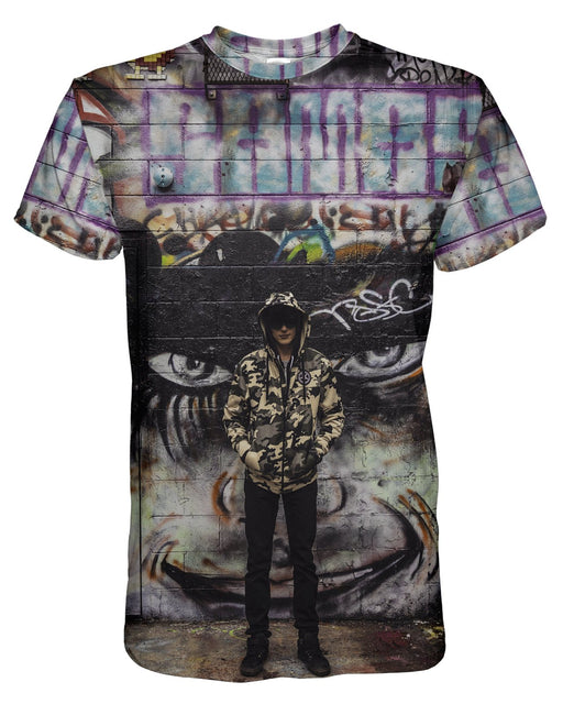 Dark Boy printed all over in HD on premium fabric. Handmade in California.