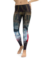 Newport Pier Yoga Leggings