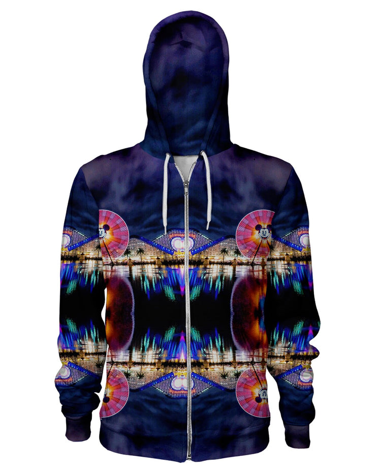 Super Fun Wheel Zip Hoodie
