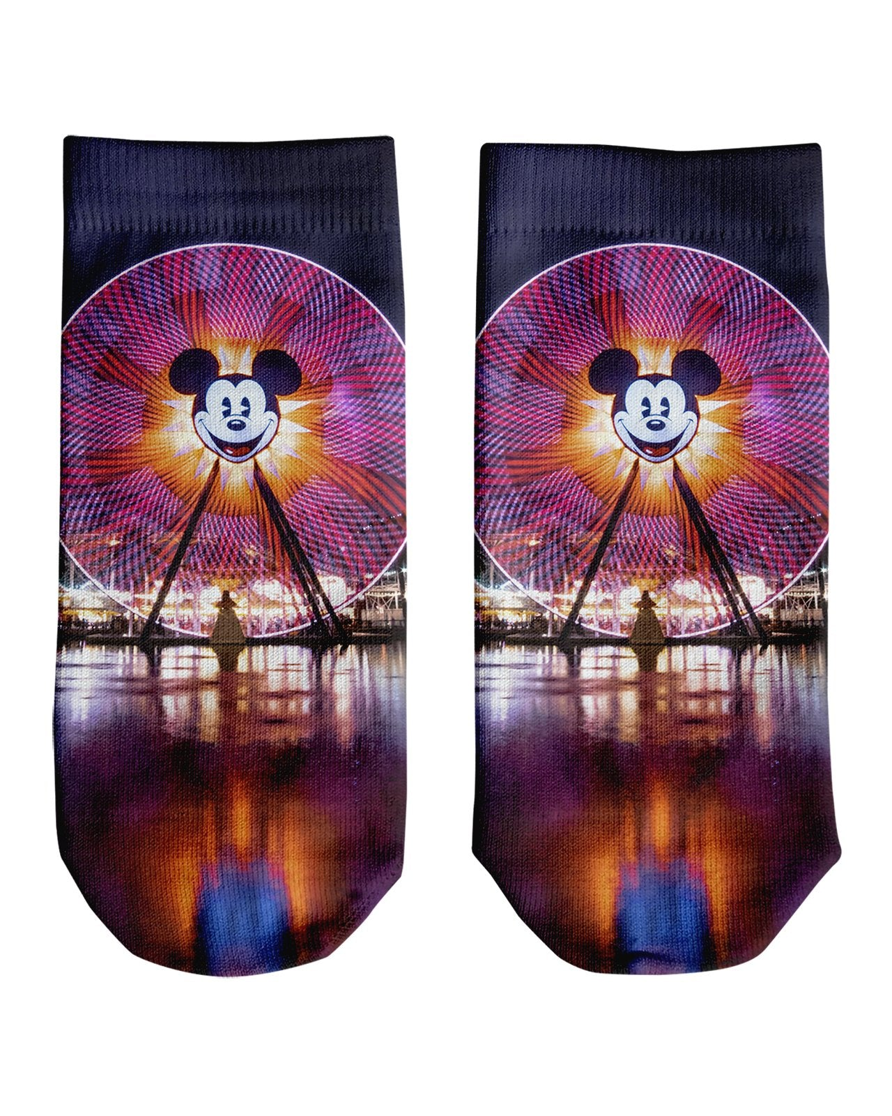 Fun Wheel Ankle Socks