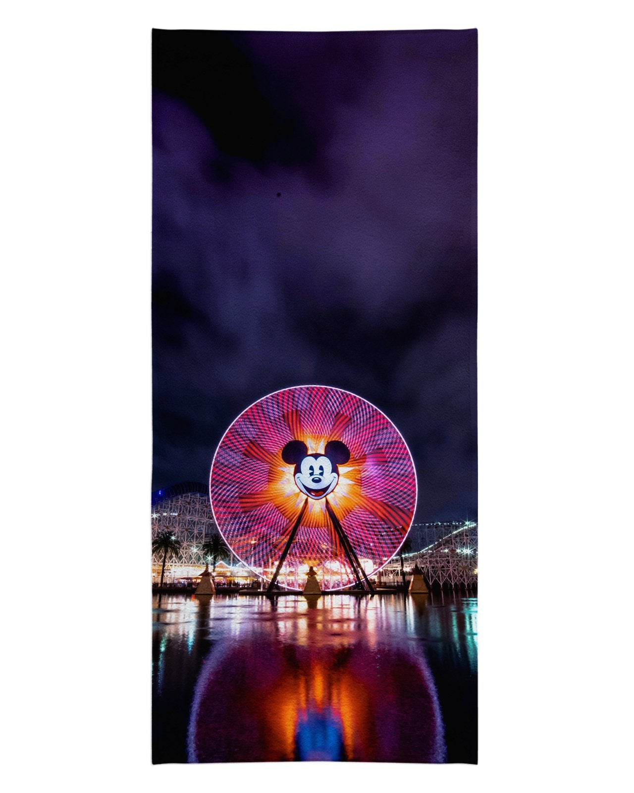 Fun Wheel Beach Towel