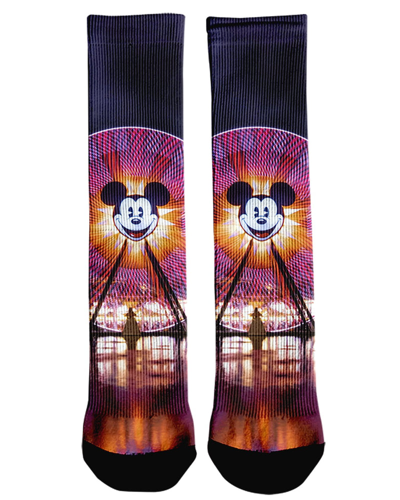 Fun Wheel Crew Socks