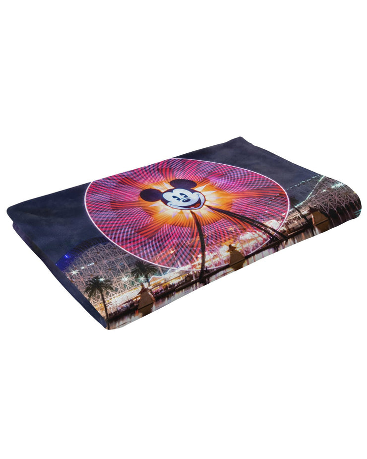 Fun Wheel Fluffy Micro Fleece Throw Blanket