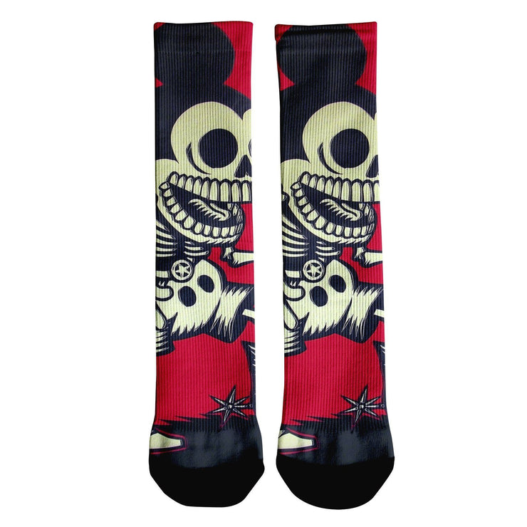 Skeleton Mickey Crew Socks