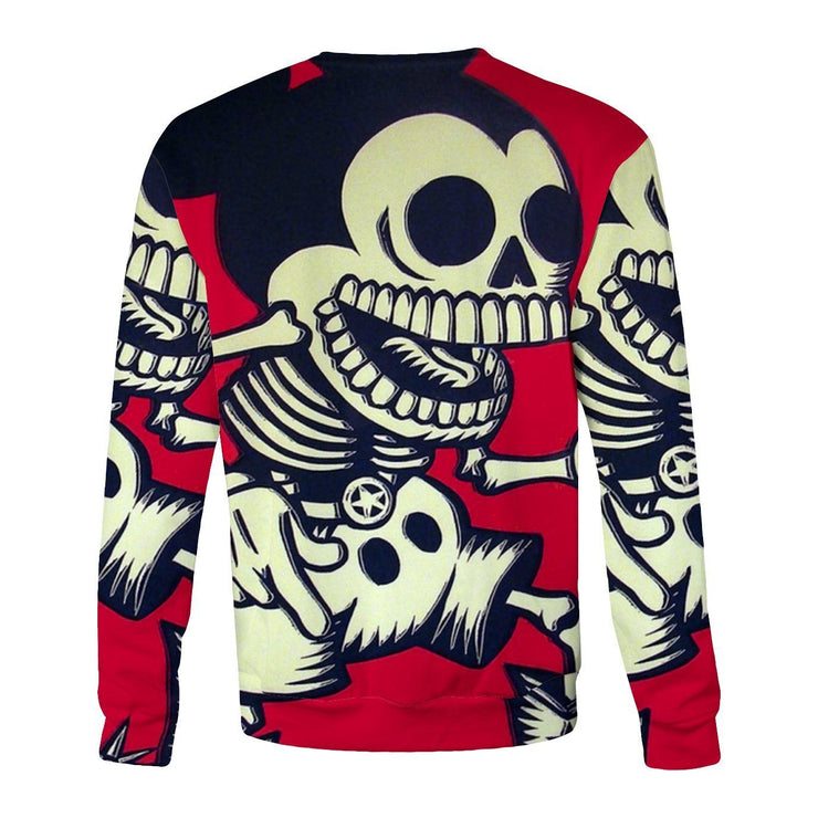 Skeleton Mickey Sweatshirt