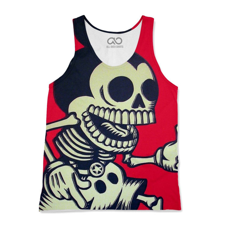 Skeleton Mickey Tank-Top