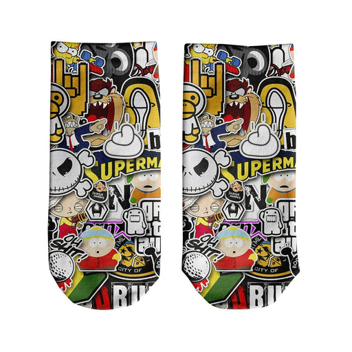 Stickers Ankle Socks