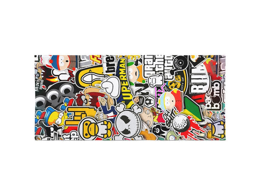 Stickers Beach Towel