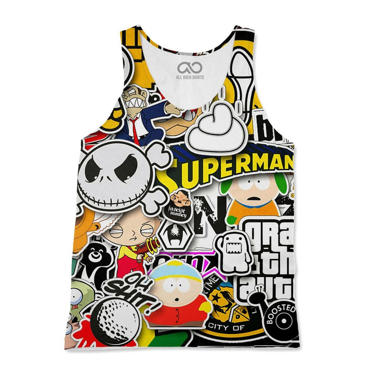 Stickers Tank-Top