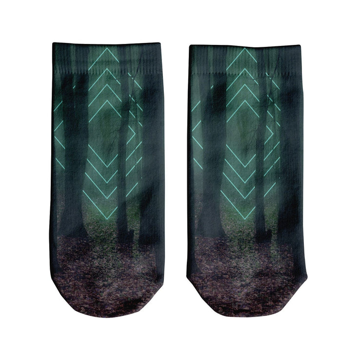 Forest Glow Ankle Socks