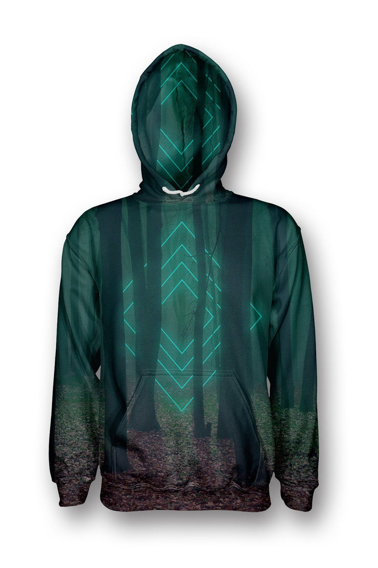 Forest Glow Pullover Hoodie