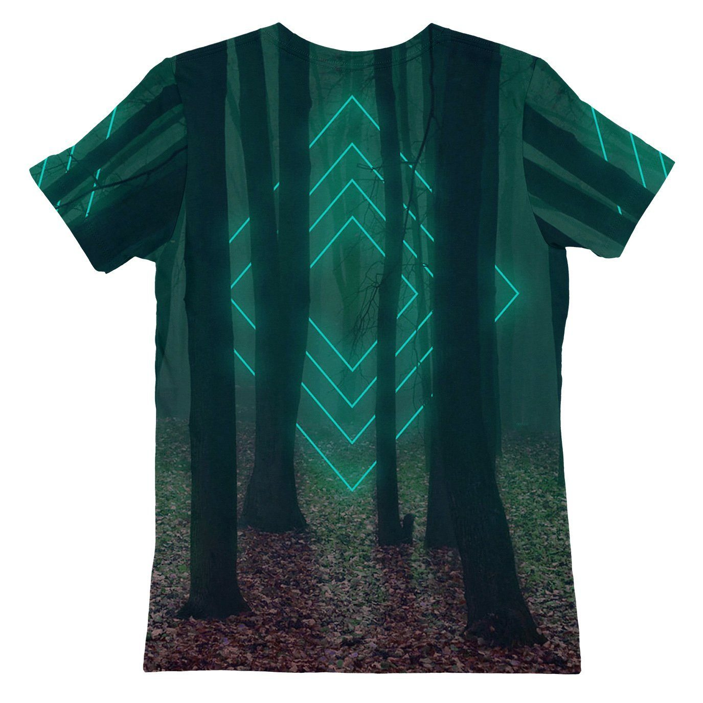 Forest Glow Womens T-shirt