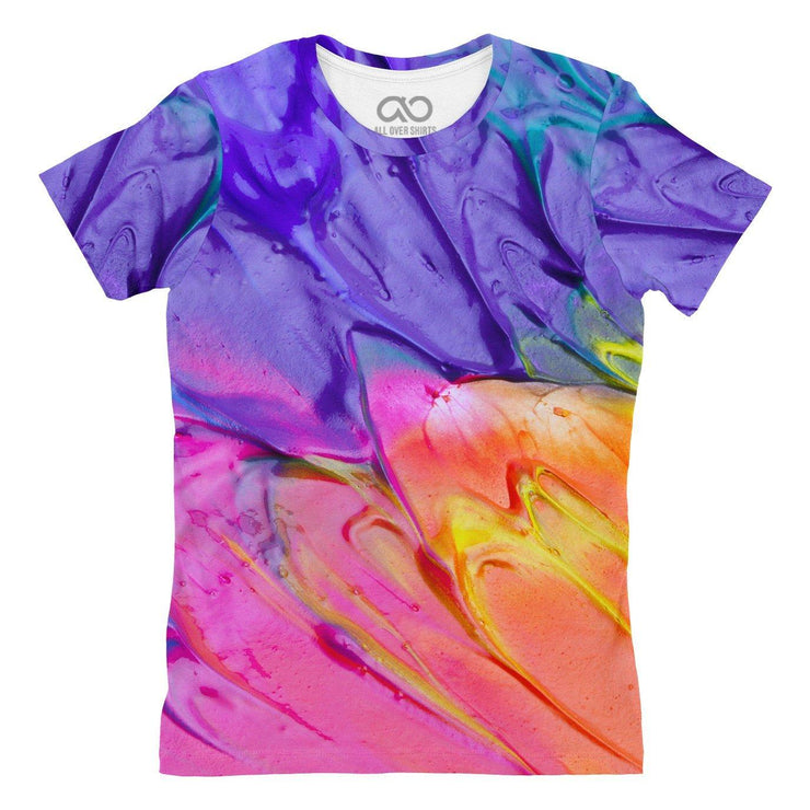 Paint Womens T-shirt