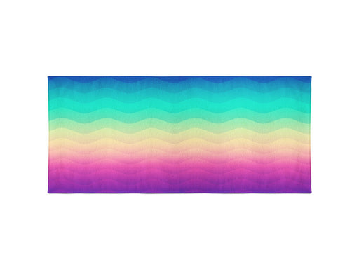 Rainbow Wave Beach Towel