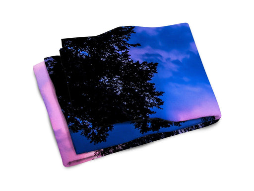 Forest Nebula Beach Towel